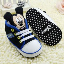 Hot money back to a single cartoon head baby shoes baby shoes toddler shoes baby shoes soft bottom H0201