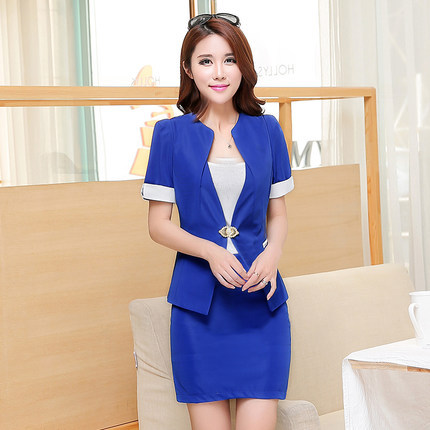 Summer spa uniform women office uniform style buy spa for Spa uniform indonesia