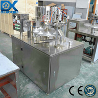 CX semi-automatic plastic tube filling and sealing machine