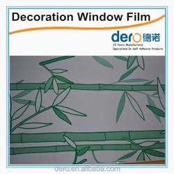 glass self adhesive glue for pvc film