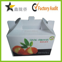 2014 Wholesale and low price paper packing box,paper box for fruit