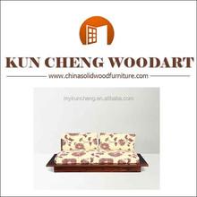 sofa bed living room sofa oak wood frame fabric curved sofa modern sofas