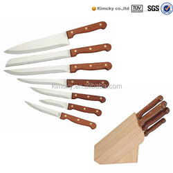7 pcs knife set fruit and vegetable carving knife kitchen knife