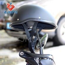 ZJMOTO Open Face Motorcycle Biker Bobber Novelty Helmet Motorcycle Open Face Helmet