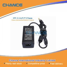 Power Supply 40w laptop charger/laptop adapter 40w 19v 2.1a for Lenovo laptop