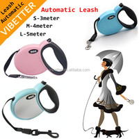 retractable dog leash/dog accessories/pet product hands free dog leash