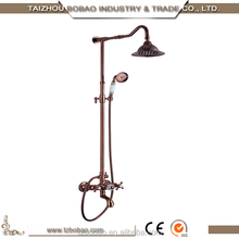 2014 Hot Sale Hot/Cold Water Copper Rose Gold Shower Faucet