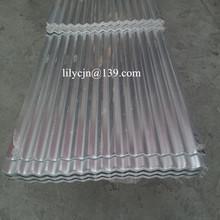 3 8. de aluminio de zinc de acero corrugado hoja