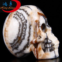 Great jasper quartz crystal skull carved jasper crystal skulls polished skull