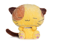 Cute Lovely Soft Customized Stuffed Toy Cat