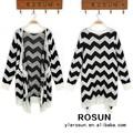 Invierno estilo coreano de onda de estilo simple patrón de suéter guangzhou ropa venta al por mayor