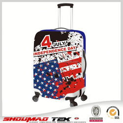 2015 newest personality Spandex luggage cover