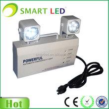 Factory 3 years warranty CE RoHS Twin spot 220V LED Emergency lamp
