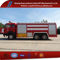 New Products Emergency Rescue 6X4 Water Tank Fire Fighting Truck