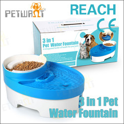 Automatic Pet Water Fountain Bowl Feeder Dog Pet Travel Drink