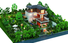 Residential Plan architectural scale model making /house& home layout model making
