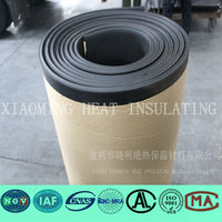 density of construction material rubber foam insulation