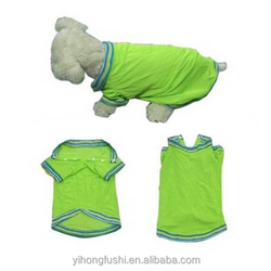 Hot new products for 2014 popular dog colorful T-shirt, wholesale pet products, cheap China wholesale clothing
