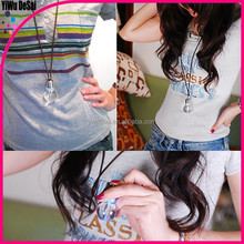 South Korean accessories wholesale lovely shine light bulb necklace