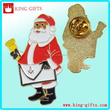 Father Christmas lapel pin