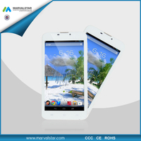 Cheap 6inch dual sim android gps mobile phone 3g low cost tablet pc phone MTK 8382 3G WCDMA2100 IPS 950*560 pixel 0.3MP+2.0MP