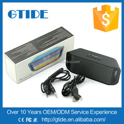 Newest speaker portable mini speaker Gtide P3 with fm radio can be used in speaker bed frame and wirelesspeaker on a motorcycle