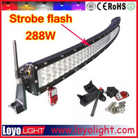 50 inch curved led light bar 288w curved off road led light bar spot flood combo