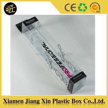 Custom clear plastic packaging box