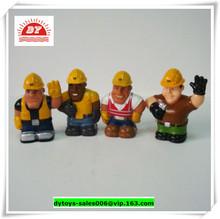 3d personalizado hecho de plástico de juguete figura aimie, juguete de figuras de la gente