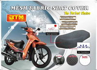 3D mesh fabric seat cover