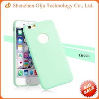 High quality slim jelly tpu case cover for iPhone 6 plus