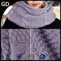 GDK0505 Fashion new style hand knitting scarf winter muffler ladies scarf