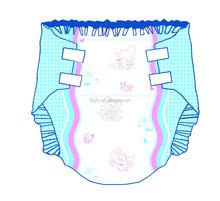 OEM High absorption custom baby printed adult diaper usa market