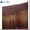 Popular Design Double Draw Cheap Best Sale Virgin halo hair straight wave