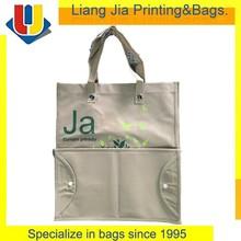 Alibaba China Non Woven Fodable Shopper Tote Bag With Hard Bottom Insert Handbag Manufacturers