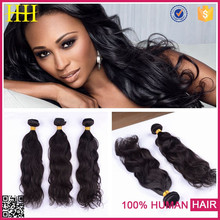High quality low price can be restyled turquoise remy hair extension