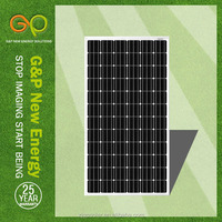 GP 300 watt pv solar panel with more Competitive price than yingli solar