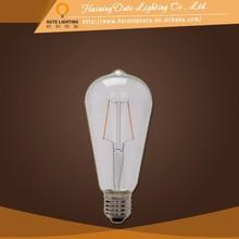 Breakage resistance 2w filament lamp 220v