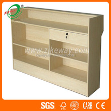 Wood Solid Retail Used Checkout Counter