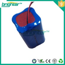 cheap 4000mah li-ion 18650 recharge battery pack from 7.4v 18650 battery factory