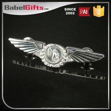 Factory direct sale custom metal pilot wings lapel pins