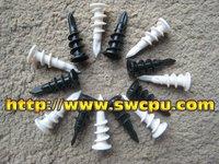 plastic raised head slotted screw