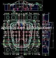 europe plastic mould design plastic thermoforming mould