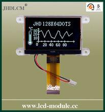 3.3v monocromo módulo lcd JHD12864-G46IBFW-BL precio