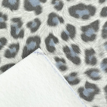 Leopard Animal Design For Fashion PU Material(HD2013-57)