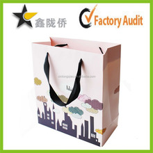 Factory Customized Printing Kraft Paper Bag/Paper Shopping Bag/Paper Gift Bag With Handle