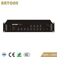 PMA-E4650A public address 5 sources 4 zone mixer 650w amplifier