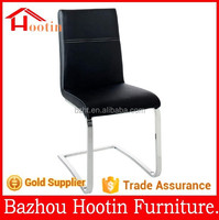 2015 high quality new design pu leathe and metal tube dining chair for dining room furniture