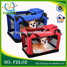 Quality Portable Fabric Pet Carrier Bag Folding Carrier