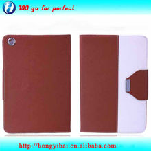 2013 Good quality PU leather protective case for ipad